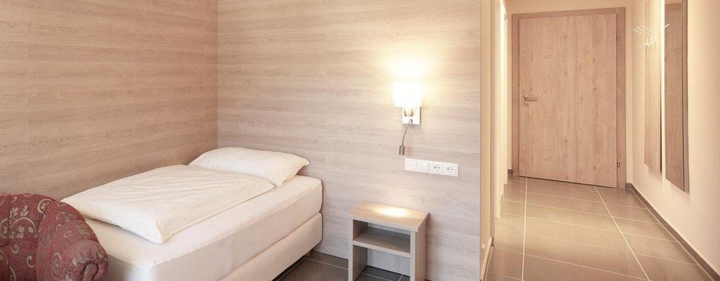 Mitarbeiterhaus Schlafzimmer