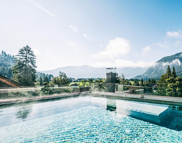 Dachpool Hotel Alpenrose