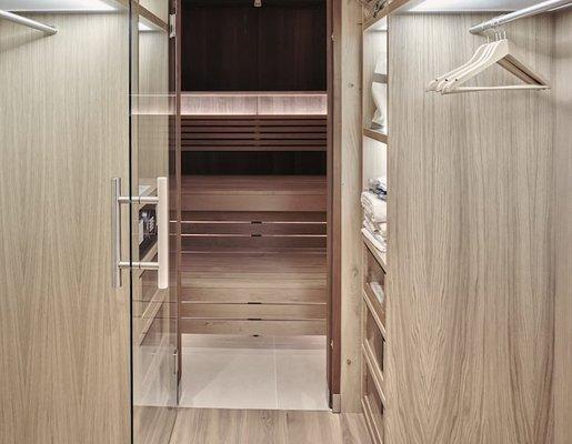 Suite mit Sauna