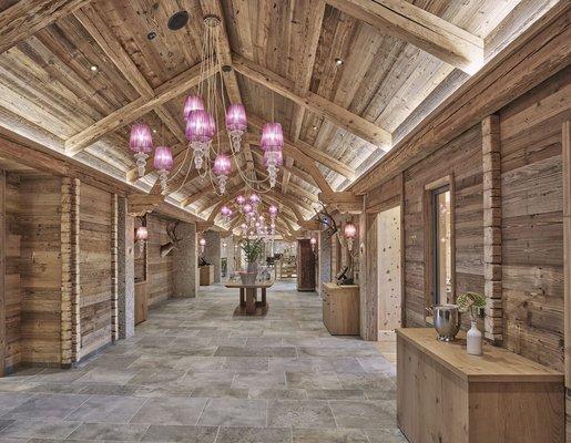 Eingangsbereich Cocoon