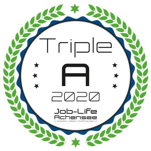 Zertifikat Triple A Arbeitgeber