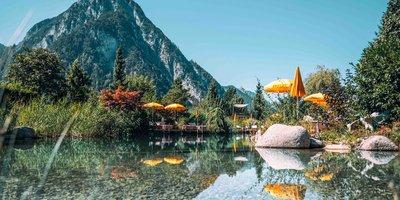 Schwimmteich in der Alpenrose